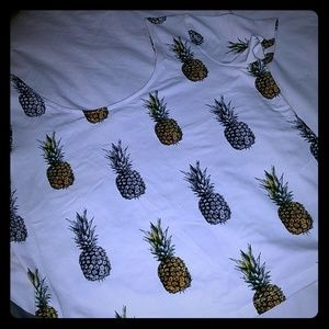 Pineapple Crop Top